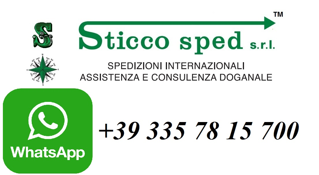 Sticco sped on WhatsApp Now!